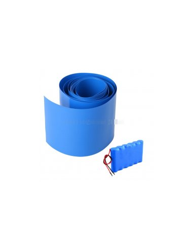 Lithium Battery Heat House Shrink Tube 50mm for 14500, 18650 and 26650 Batteries - 50cm