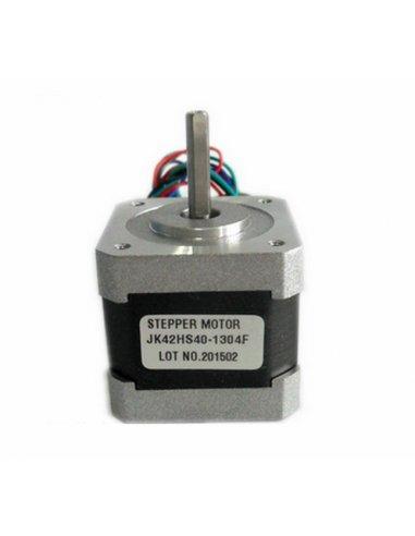 Nema 17 Hybrid Stepper Motor: 42x40mm, 200 Steps/Rev, 3.4VDC, 1.3A/Phase, 4.1Kg/cm