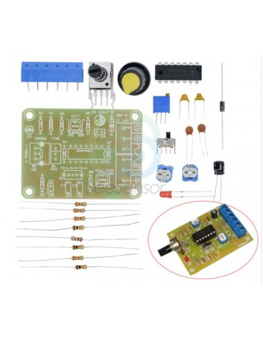 Kit DIY Módulo Gerador de Sinal de Função Monolítica - ICL8038