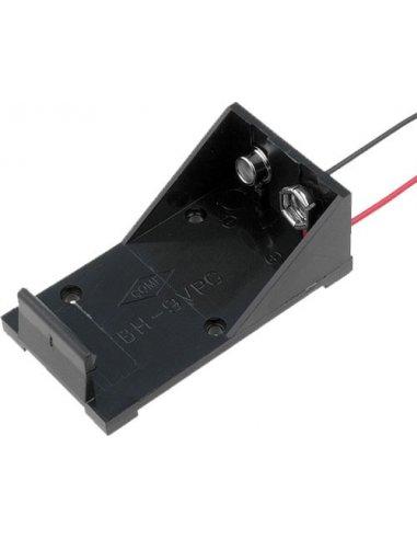 Battery Holder 9V 6LR61 Wire Leads | Suporte Pilhas |