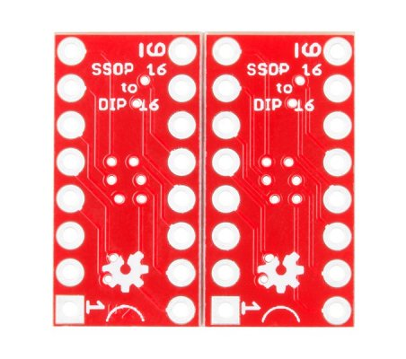 SparkFun SSOP to DIP Adapter - 16-Pin   PCB  