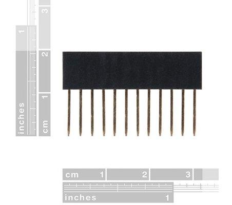 Arduino Stackable Header 12Pin | Headers e Sockets |