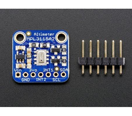 MPL3115A2 - I2C Barometric Pressure/Altitude/Temperature Sensor | Sensores de Temperatura |