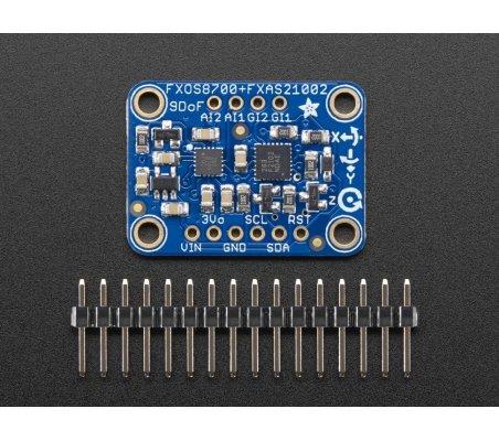Adafruit Precision NXP 9-DOF Breakout Board - FXOS8700 + FXAS21002 | IMU |