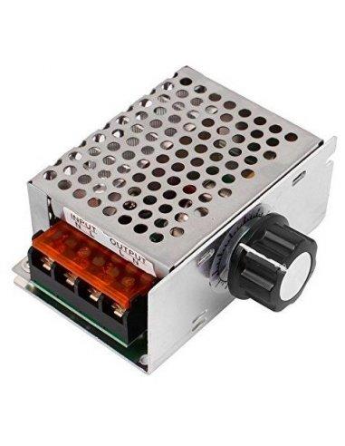 SCR Voltage Regulator   Regulador de Voltagem Dimmer Motor Speed 220VAC 4000W