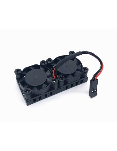 Dual Cooling Fan w/ Adhesive for Raspberry Pi   Varios - Raspberry Pi  