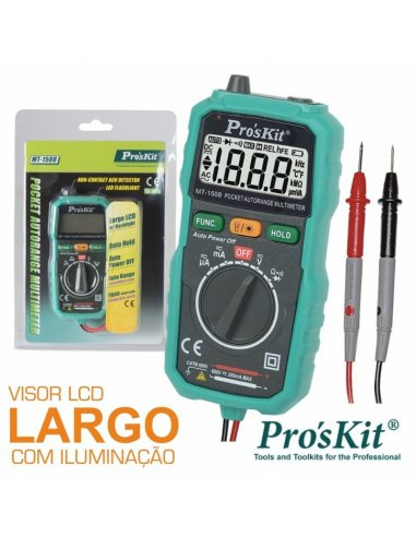 Pro'skit Auto Range Digital Multimeter MT-1509