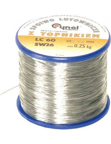 Solder wire 0.5mm 60/40 250gr | Material Soldadura |
