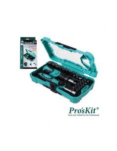 Pro'sKit SD-2316M 26-in-1 Drive Sockets & Screwdriver Bits Tool Set