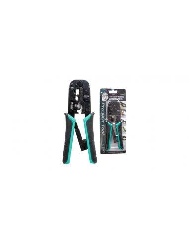 Pro'skit CP-376TR Telecom Crimping Tool for RJ45/RJ11/RJ12/RJ22   Alicates para Eletronica  