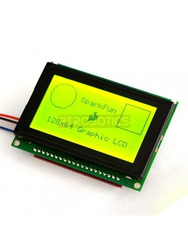 Serial Graphic LCD 128x64   LCD Grafico  