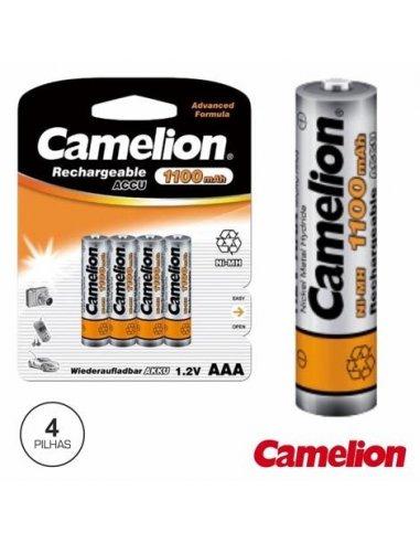 Battery NiMh AAA 1.2V 1100mA Blister 4X Camelion