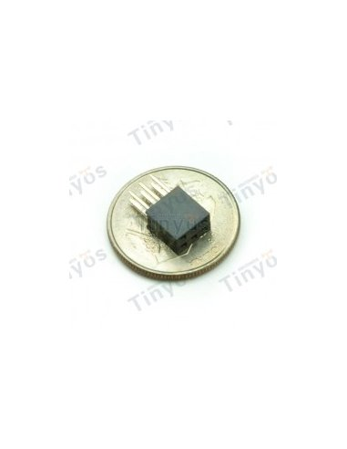 2x3 Pin Stackable Header
