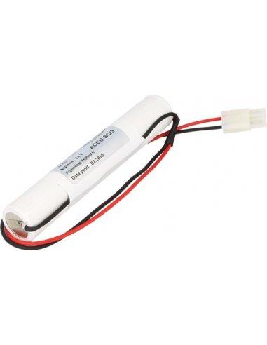Rechargeable Battery Ni-Cd 4.8V 2500mAh | Baterias NiMh e NiCd |
