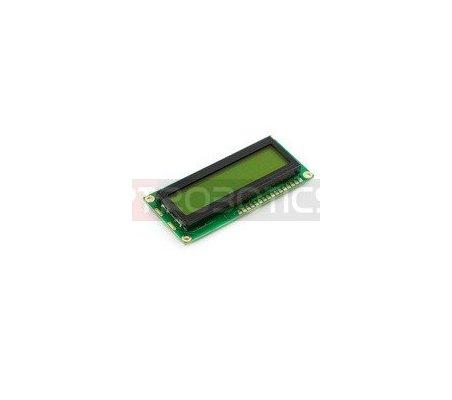 Basic 16x2 Character LCD - Black on Green 5V