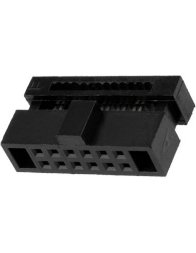 IDC Socket 26Way Pitch 1.27mm