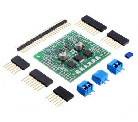 Dual TB9051FTG Motor Driver Shield for Arduino