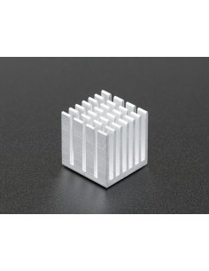 Aluminum Heat Sink for Raspberry Pi 3 or 4 - 15 x 15 x 15mm