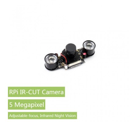 RPi IR-CUT Camera Better Image in Both Day and Night