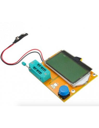 LCR-T4 128x64 LCD ESR SCR Meter Transistor Tester
