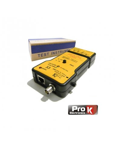 Prok MS6810 Network Cable Tester for BNC/UTP/STP | Acessórios |