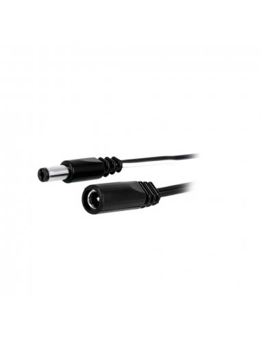 5.5/2.1mm female to male barrel jack extension cable - 1.8m | Cabo coaxial | Cabo av |