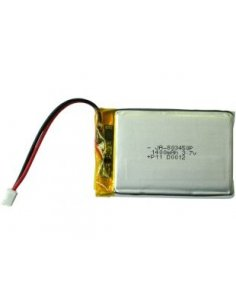 Rechargeable Lipo Battery 3.7V 1400mAh with JST connector
