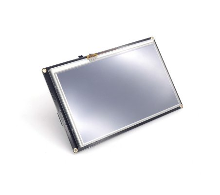 NX8048K070_011R: 7.0'' Nextion Enhanced HMI Resistive Display With Enclosure