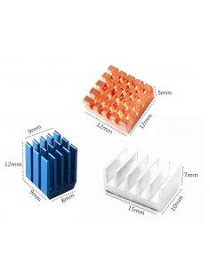 HeatSink Kit for Raspberry Pi 4 - 3pcs