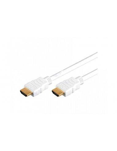 Cabo HDMI Branco - 2m | Cabos de Dados | Cabo HDMI | Cabo USB |