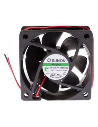 Sunon DC Brushless Fan 60x60x25mm 12V 0.13A