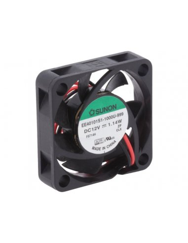 DC Brushless Fan 40x40x10mm 5V 120mA Sunon | Ventoinhas |