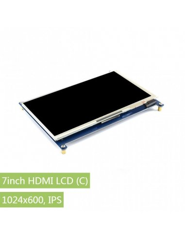 7inch HDMI Capacitive Touch Screen LCD 1024×600 IPS | LCD Grafico |