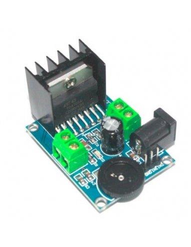 TDA7266 Power Amplifier Double Channel 3 to 18Vdc 5-15W Module