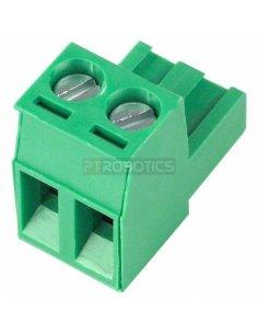 Terminal Block Plug 2Way Green