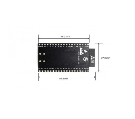 Espressif ESP32 DevKitC-32D w/ female headers