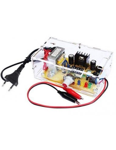 Kit DIY LM317 - Carregador com Regulador de Tensão