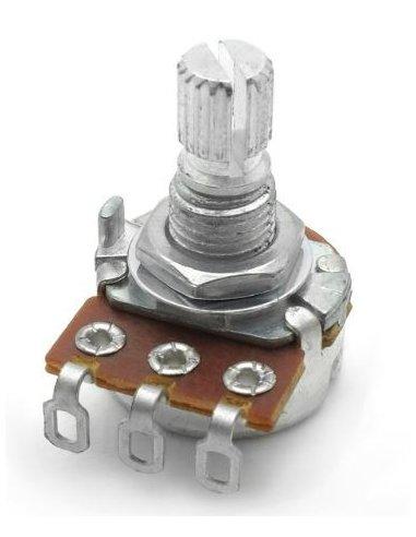 Potenciómetro Logarítmico 500K 125mW | Potenciometros Rotativos |