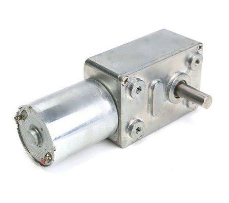 JGY370 Reversible High Torque Worm Geared 12V 40rpm | Motor DC com Engrenagens |