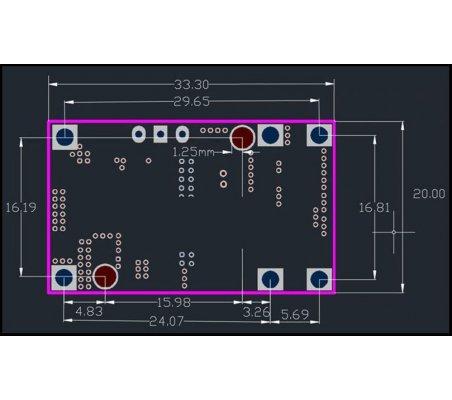Micro USB 5V 2A Módulo carregador com proteção para baterias Li-ion 18650 | Carregador de Baterias |