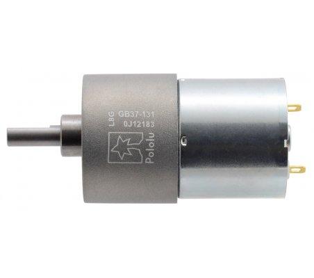 Motor com Caixa Redutora 131:1 37Dx57L mm 24V (pinhão helicoidal)