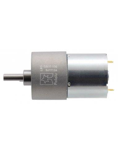 Motor com Caixa Redutora 150:1 37Dx57L mm 24V (pinhão helicoidal)