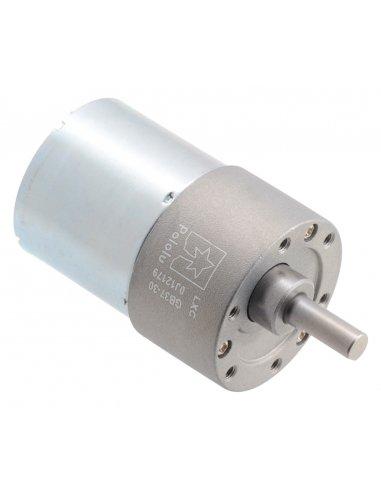 Motor com Caixa Redutora 30:1 37Dx52L mm 24V (pinhão helicoidal) | Motor DC com Engrenagens |