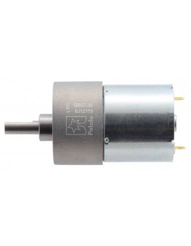 Motor com Caixa Redutora 70:1 37Dx54L mm 24V (pinhão helicoidal) | Motor DC com Engrenagens |