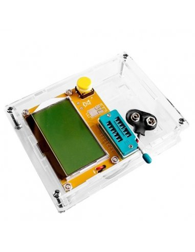 Acrylic Case for LCR-T4 128x64 LCD ESR SCR Meter Transistor Tester