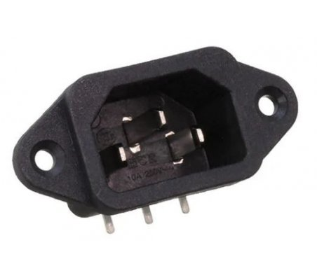 IEC Male Power Socket 250V 10A   IEC  