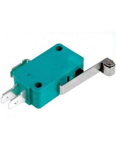 Microswitch 10A Long Lever w/ Roller | MicroSwitch |