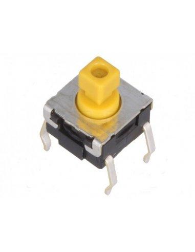 Botão de Pressão Omron SPST B3F-1052 - 24V 50mA | Tactile Switch |