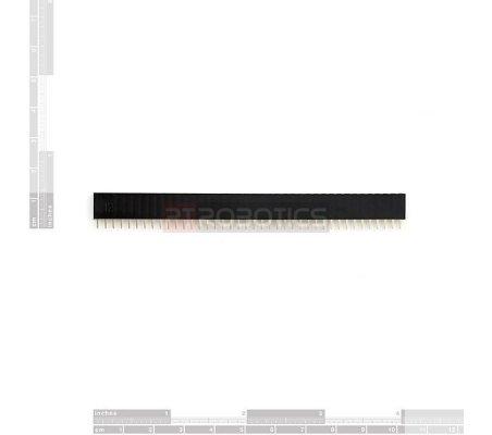 PCB Header 40Pin Single Row Female   Headers e Sockets  