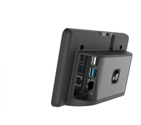 "Caixa Preta para Display Tátil 7"" - Raspberry Pi 4"